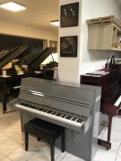 Krásné šedivé pianino se zárukou, doprava zdarma.
