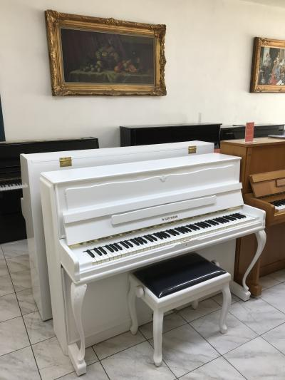 Pianino W. Hoffmann - C. Bechstein, mechanika Renner