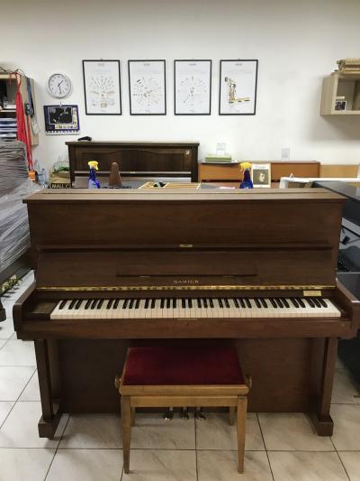 Korejské pianino Samick model SU 118