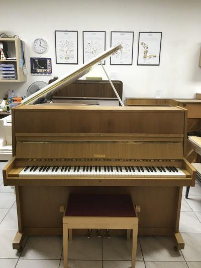 Pianino Weinbach - Petrof rok výroby 1990, včetně nové židle, záruka 2 roky