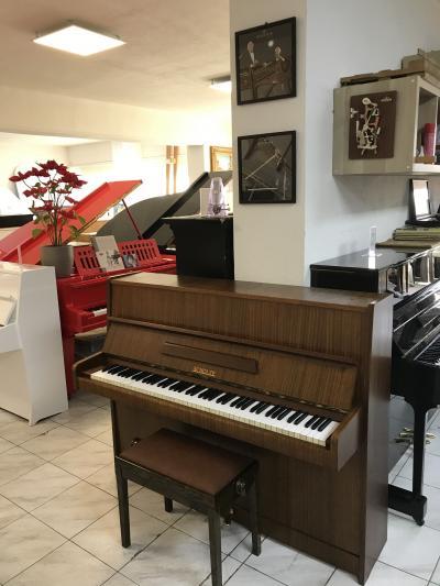 Pianino Scholze - Petrof model 110 sezárukou, doprava zdarma