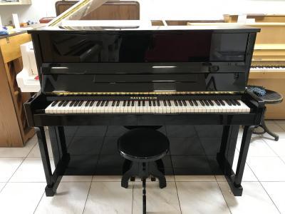 Pěkné pianino RAVENSTEIN, sezárukou, doprava zdarma.