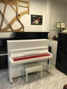 Bílé pianino Petrof model 125 Concertino, se zárukou 3 roky.