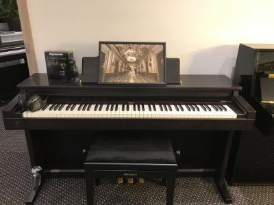 Digitální pianino Roland HP 2800 sezárukou, doprava možná
