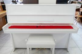 Bílé pianino Petrof model K114