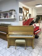 Pianino Europa - C. Bechstein model 122 včetně nové italské židle.