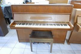 Pianino Scholze s židlí, doprava zdarma.