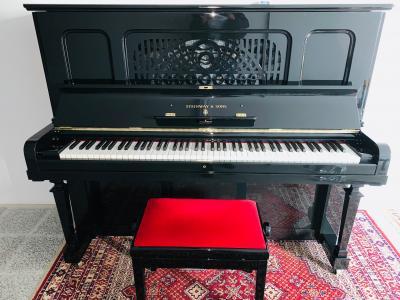 Pianino Steinway & Sons model EBONIZED SE ZÁRUKOU