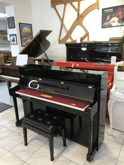 Pianino YAMAHA C113 TPE v záruce + dárek set Klasik kytara (4/4).