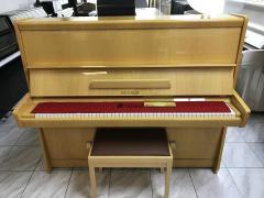 Pianino PETROF 125 Opera sezárukou, včetně nové židle, 1ladění.