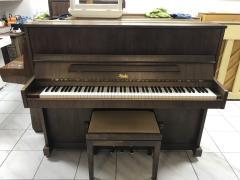 Pianino Rösler - Petrof rok výroby 1997, včetně židle, doprava zdarma.