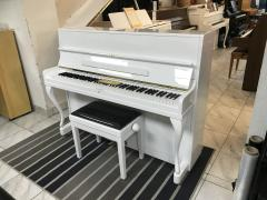 Švédské pianino Nordiska sezárukou, vceně nová židle