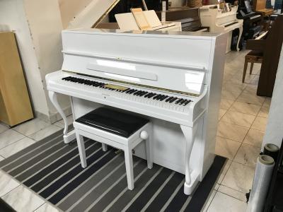 Švédské pianino Nordiska sezárukou, vceně nová židle.
