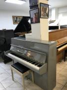 Šedé pianino vevelmi dobrém stavu, záruka, doprava