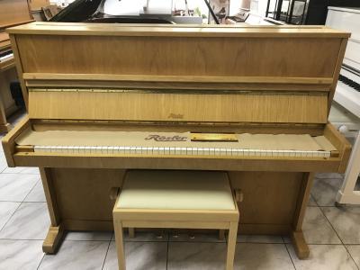 Pianino Rösler - Petrof rok výroby 1988 vevelmi dobrém stavu, sezárukou