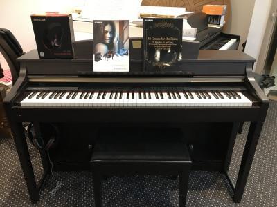 Digitální piano Yamaha Clavinova CLP370