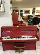 Červené pianino Yamaha made inJapan, záruka 2 roky.