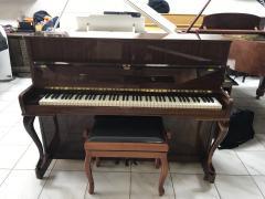 Německé pianino Zimmermann sezárukou, doprava zdarma.