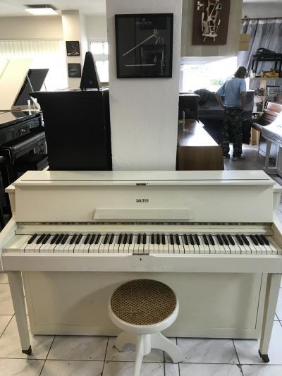 Německé pianino Sauter sestoličkou, doprava možná