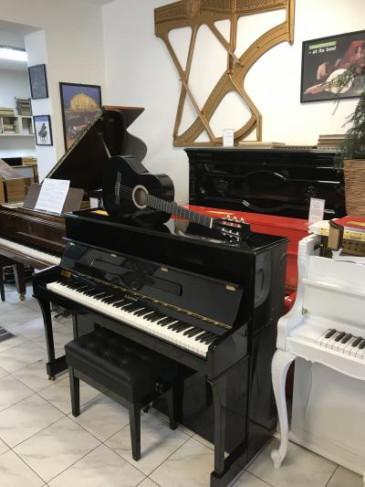 Pianino A. Grand v záruce, záruka 2 roky, doprava zdarma + dárek set Klasik kytara (4/4)
