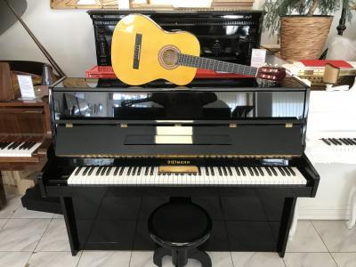 Německé pianino se zárukou + dárek set Klasik kytara (4/4).