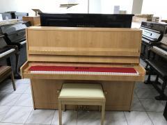 Pianino Petrof 118 L1, rok výroby 2006, se zárukou 5 let, doprava zdarma.