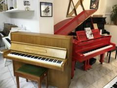 Pianino Scholze - Petrof v záruce, včetně židle, doprava.