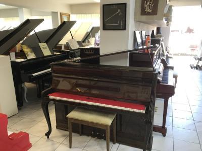 Krásné pianino Petrof Rococo, poprvním majiteli, se zárukou