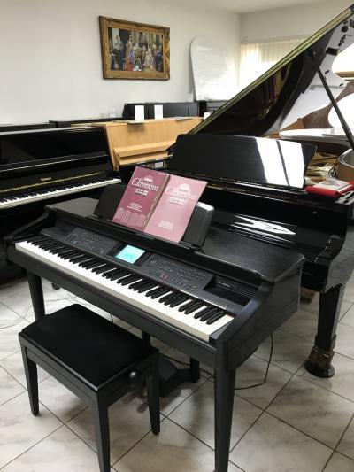 Digitální piano Yamaha model CVP 96, sezárukou, doprava zdarma