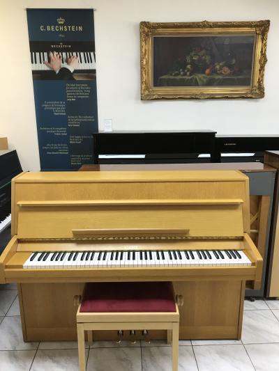 Pianino August Scherer vevelmi dobrém stavu, první majitel, záruka