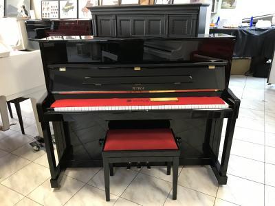 Pianino Petrof P 118, r. v. 2010, s židlí, záruka 5 let.