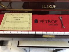 Zánovní klavír PETROF 125 IV sezárukou 5 let.