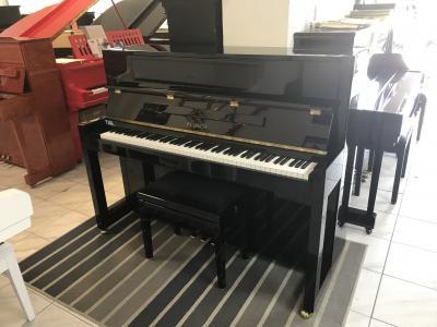 Zánovní pianino Feurich model115 Premiere sezárukou 2roky