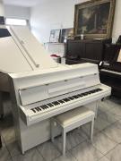 Bílé pianino Yamaha (made in Japan) se zárukou 3 roky, doprava zdarma, včetně nové klavírní židle