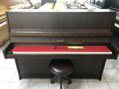Pianino Petrof P116, r.v.1994, poprvním majiteli, záruka 5let