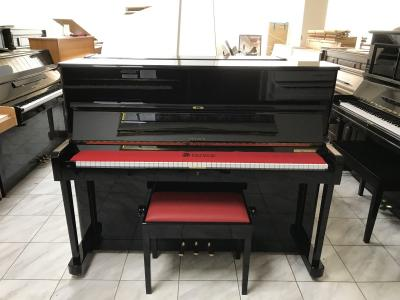 Zánovní pianino PETROF včetně nové italské židle.