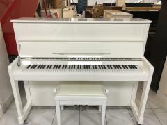 Německé pianino Steinmayer včetně klavírní židle