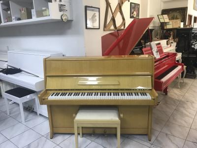 Pianino Petrof K 114 ve velmi dobrém stavu.