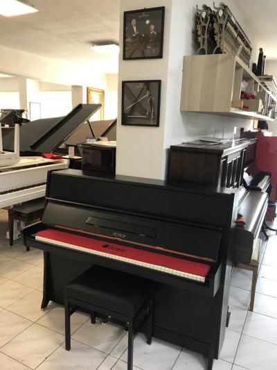 Pianino PETROF K 114 SE ZÁRUKOU 2 roky, s židlí, doprava zdarma.
