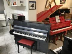 Piano FAZER sezárukou, antracitová metalíza