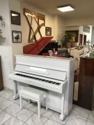 Bílé pianino Samick rok výroby 2004, se zárukou, doprava zdarma.