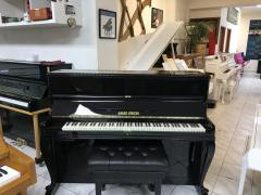 Černé pianino August Förster Löbau, sezárukou, doprava zdarma.