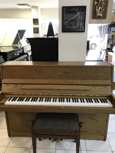 Pianino Honner ve velmi dobrém stavu, se zárukou 2 roky