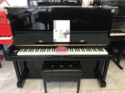 Klavír Samick model SU 131, rok výroby 2002, s původním dokladem.