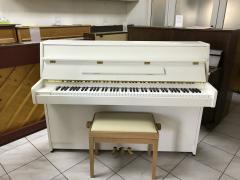Bílé pianino Kawai made in Japan, záruka 2 roky, doprava zdarma.