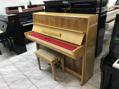 Pianino PETROF KLASIK 114 s židlí.