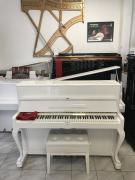 Bílé pianino PETROF v záruce, doprava do 100 km zdarma!