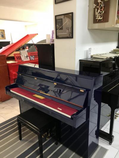 Krásné pianino Yamaha sezárukou a doprava zdarma