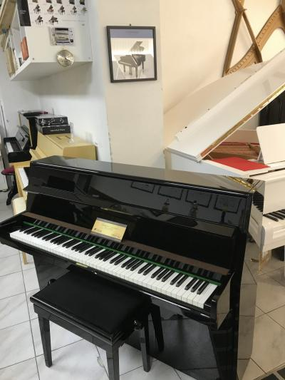 Pianino W. Hoffmann - C. Bechstein sezárukou, RENNER mechanika