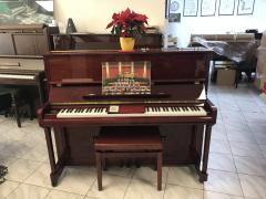Zánovní pianino Samick model JS 121, rok výroby 2009.